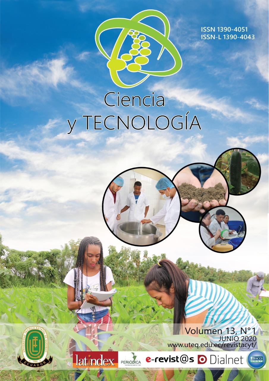 Ver Vol. 14 Núm. 1 (2021): Revista Ciencia y Tecnología Enero - Junio 2021