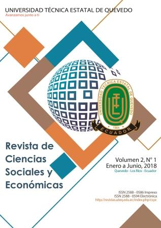 Ver Vol. 2 Núm. 1 (2018): Ciencias Sociales y Económicas (enero-junio 2018)