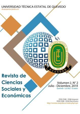 Ver Vol. 2 Núm. 2 (2018): Revista de Ciencias Sociales y Económicas (julio-diciembre 2018)