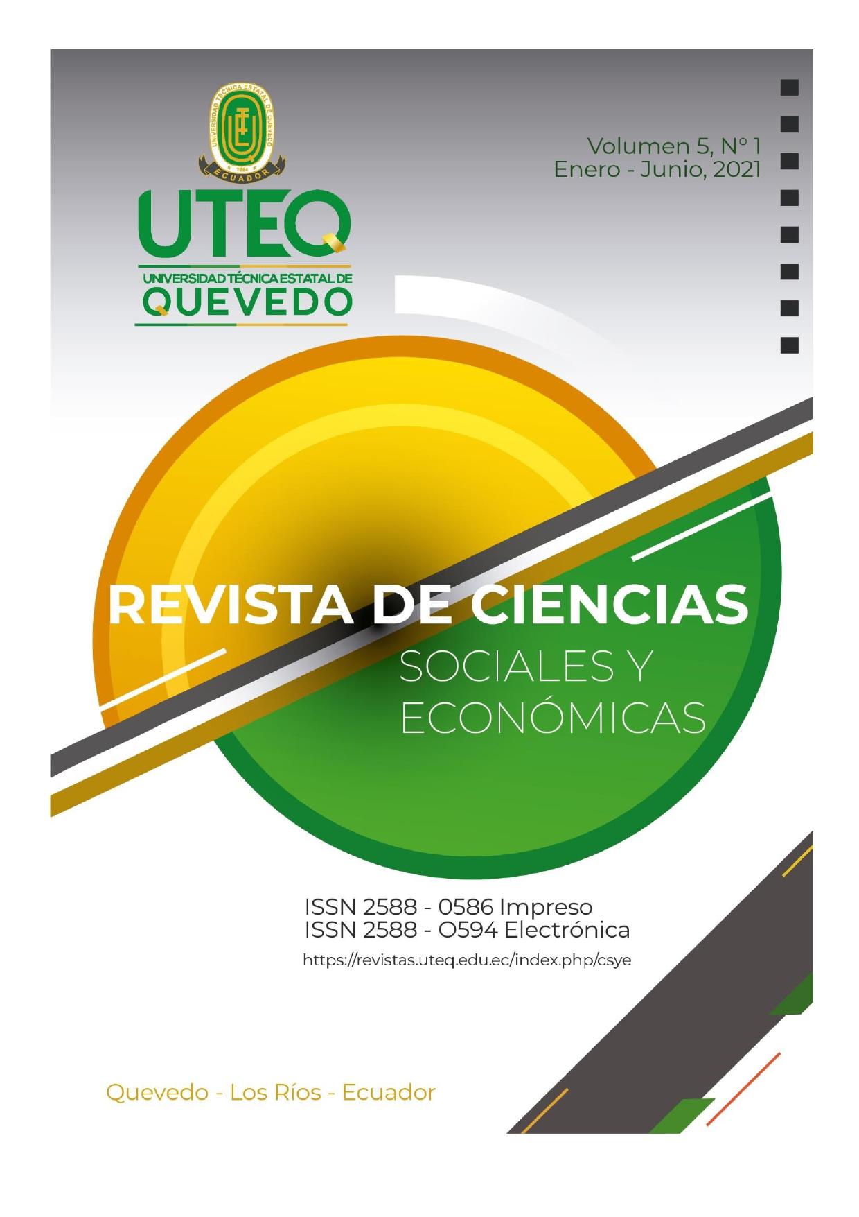Ver Vol. 5 Núm. 1 (2021): Revista Ciencias Sociales y Económicas